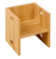 BioKinder Elena Würfelhocker Tisch Regal Stuhl aus Massivholz Erle NEU!
