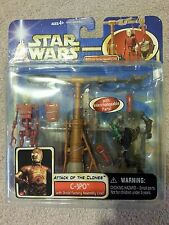 STAR WARS DELUXE: C-3PO with DROID FACTORY ASSEMBLY LINE