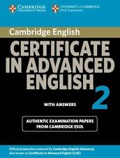 Cambridge Certificate in Advanced English 2:  For Updated Exam with Answers (No.