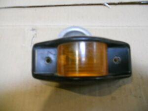 Hummer H1 Humvee    Side marker lamp Metal Housing w/ Amber Lens Free Shipping