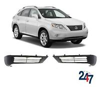 FRONT BUMPER LOWER SPOILER PAIR SET NOT GENUINE FOR LEXUS RX350 450H 2009-2015