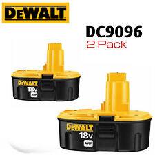 2 Dewalt 18 V DC9096 XRP™ Batteries Powers Entire Line of 18V Drills, Saws, etc.