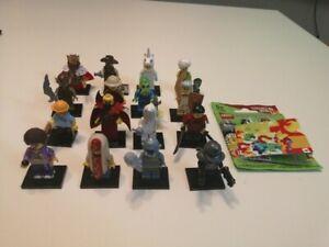 Lego Series 13 Minifigures Complete Set of 16