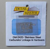 CARBURETOR HARDWARE 1:24 1:25 DETAIL MASTER CAR MODEL ACCESSORY 2420