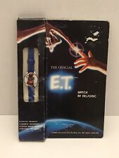 E.T. Movie Collectible Watch 1982 Nelsonic NIB