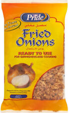 400g x 2 Packs Pride Crispy Fried Onions Ready To Use Burgers Hot Dogs, caterers
