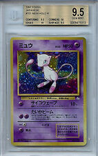 Mew #151 Pokemon Japanese BGS Graded 9.5 Gem Mint 1997 Fossil Holo Card