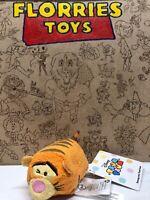 Disney Store Mini Tsum Tsum Plush Soft Toy Winnie The Pooh Tigger WINKING