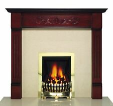 Mahogany Traditional Fireplace Mantelpieces & Surrounds