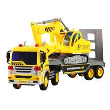 1/16  Inertia Lorry Truck Engineering Vehicle Car Excavator Kids Toys