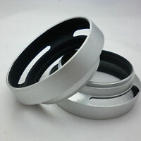 40.5mm Silver Vented Lens Hood shade For SONY Alpha A5000 A5100 A6000 16-50mm