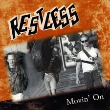 RESTLESS Movin' On CD - NEW - Sealed - ROCKABILLY - Mark Harman - psychobilly