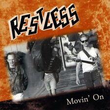 RESTLESS Movin' On CD - NEW - Sealed - ROCKABILLY - Mark Harman - psychobilly