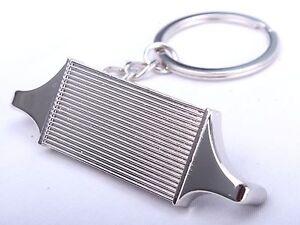 Intercooler Core JDM Keyring Keyfob Engine Novelty Piston Supercharger Gift