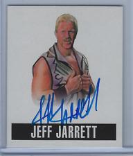 JEFF JARRETT 2017 LEAF ORIGINALS WRESTLING 2014 ARTWORK ON CARD AUTO