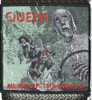 Queen Patch News Of The World Woven Patch