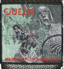 Queen ' News Of The World ' Woven Patch