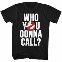 Ghostbusters Who You Gonna Call Men's T-Shirt Cartoon OFFICIAL TV Merch
