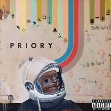 Priory - Need To Know [Vinyl New]