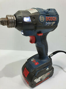 Bosch 18v Brushless Impact Wrench + 4Ah GDX18V-EC