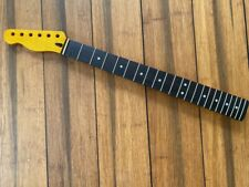 Vintage tint Canadian  Maple Tele neck left handed / reverse headstock, satin ni