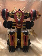 Incomplete - Working Power Rangers Dino Thunder Mezodon Megazord Triceramax