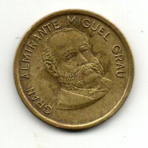 Perú 1986, Gran Almirante Miguel Grau, 50 centimos