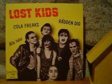 """LOST KIDS Cola Freaks 7""""/1979 Denmark/Danish KBD Punk Masterpiece/Sods/Brats"""
