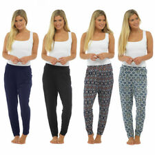 Jersey Tapered Mid Rise Trousers for Women