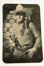 KEN MAYNARD Cowboy Movie Star Vintage Photo Postcard