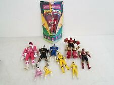 Mixed Lot of Power Rangers Action Figures