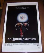 My Bloody Valentine 11X17 Movie Poster Original Version