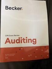 NEW Becker CPA Exam Review - Auditing V3.4, Valid Through Dec 31,2020