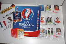 Panini Euro 2016 GERMAN Version MINT SET: Album, 680 Sticker, all extra stickers