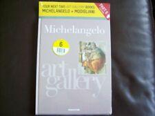 DeAgostini Art Gallery Artists Book Collection # 6 Michelangelo & Modigliani