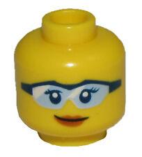 LEGO NEW MINIFIGURE GIRL WITH GLASSES SUNGLASSES FEMALE FIGURE BODY PART