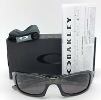 NEW Oakley Fives Squared sunglasses Grey Smoke Grey Five SQ 9238-05 AUTHENTIC