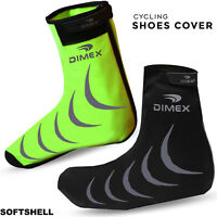 New Cycling Overshoe Shoe Cover Water Resistant Windproof Softshell Outdoor