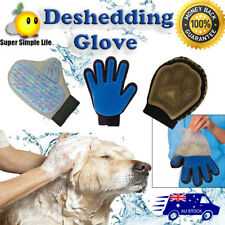 2020 All Deshedding Magic Brush Glove True Touch Pet Dog Cat Massage Grooming