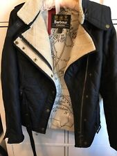 Womens Barbour Black jacket size 8