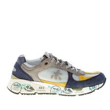 PREMIATA scarpe uomo Sneaker Mase 3886 multicolore argento grigio blu e giallo