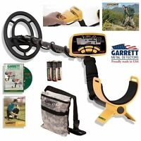 Garrett Ace 250 Metal Detector with Water-Proof Coil and Camo Treasure Pouch