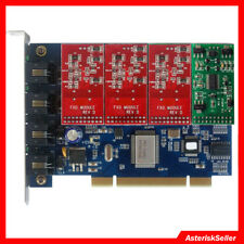 tdm400p 3FXO+1 FXS card asterisk Card For Issabel Freepbx Centos tdm410p FXO FXS