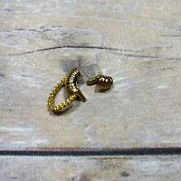 LOL Surprise OMG DOLL Accessories Set FEROCIOUS FIERCE Earrings EARRING Gold