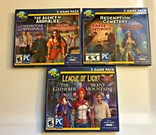 Big Fish Pc Game Lot New League Of Light Redemtion Cemetery Agency Of Anomalies