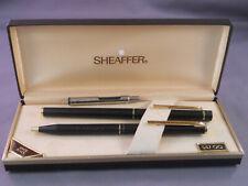Sheaffer Vintage Slim Matte BlackTarga fountain pen and ball pen set--medium