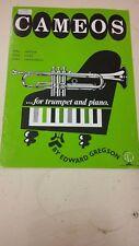 Gregson: Cameos For Intermediate Trumpet And Piano: Music Score