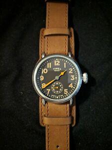 TIMEX Midget (TW2R45100) Japanese Domestic Model Welton Men's 38mm Black Watch
