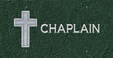 Chaplain License Plate -LP 329