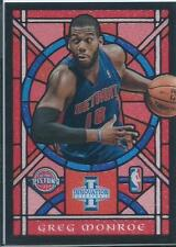 2012-13 PANINI INNOVATION BASKETBALL GREG MONROE STAINED GLASS